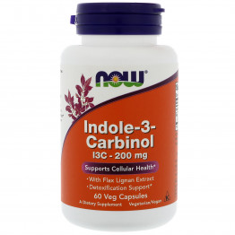 Indole-3-Carbinol 200 mg 60 caps / Индол-3-Карбинол