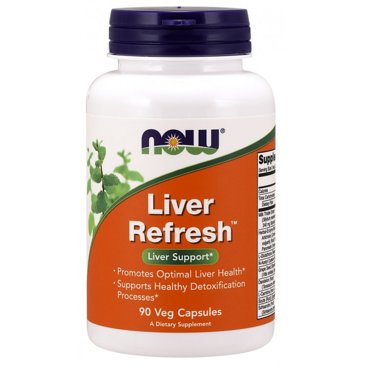 Liver Refresh 90 caps (аналог Liver Detoxifier and Regenerator) - Ливердетокс