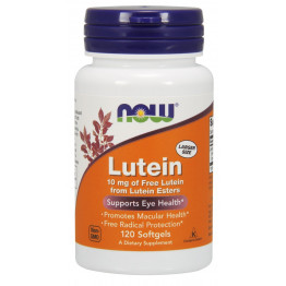 Lutein 10 mg 120 softgels / Лютеин