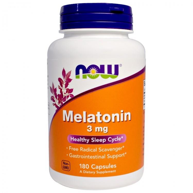 Melatonin 3 mg 180 caps / Мелатонин