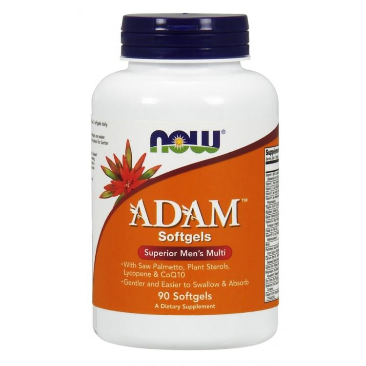 ADAM Superior Men's Multi 90 softgels / Витаминный комплекс АДАМ