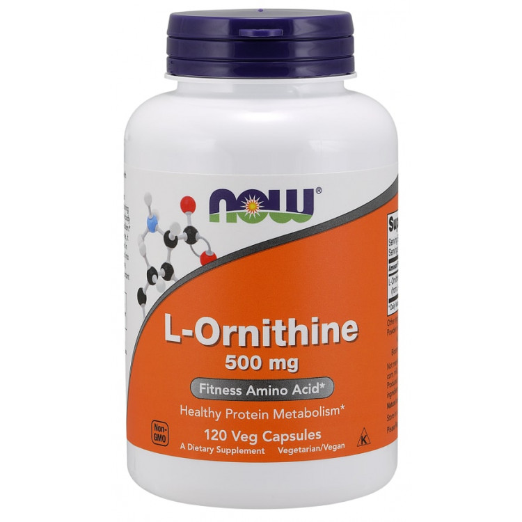 L-Ornithine 500 mg 120 caps / Л-Орнитин