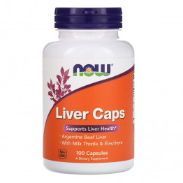 Now Foods Liver Caps / Капсулы для печени 100 капсул