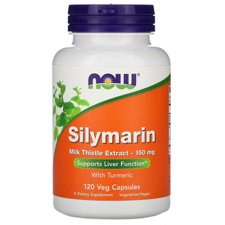 Now Foods Silymarin / Силимарин - Экстракт расторопши 150 мг 120 капсул