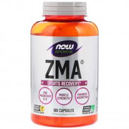 ZMA 180 caps Now Foods / Магний, Цинк, Витамин Б-6