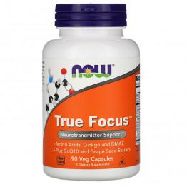 Now Foods True Focus 90 растительных капсул