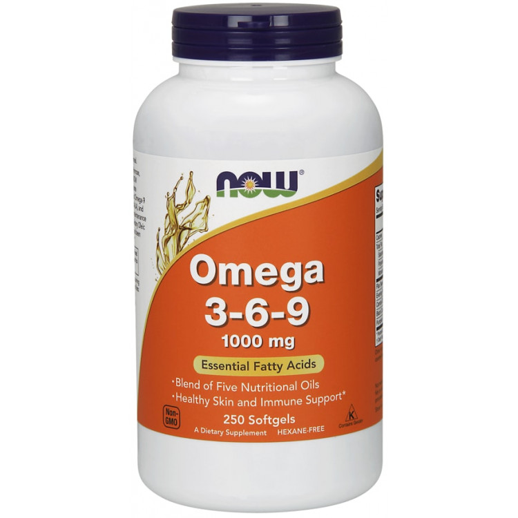 Omega 3-6-9 1000 mg 250 softgels / Омега 3-6-9