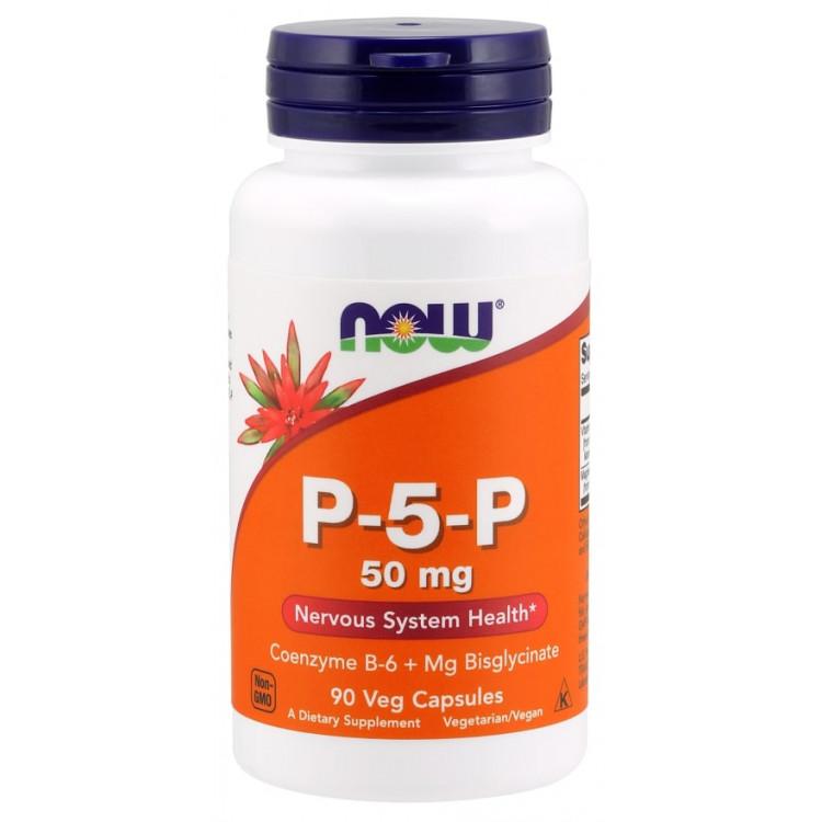 P-5-P 90 veg capsules / Кофермент пиридоксальфосфат