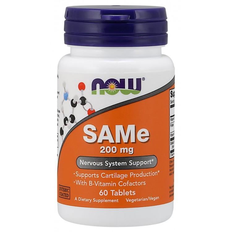 SAMe 200 mg 60 tab / S-аденозил-L-метионин