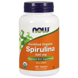 Spirulina Certified Organic 500 mg 180 tab / Натуральная спирулина