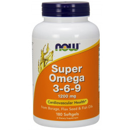 Super Omega 3-6-9 1200 mg 180 softgels / Омега 3-6-9
