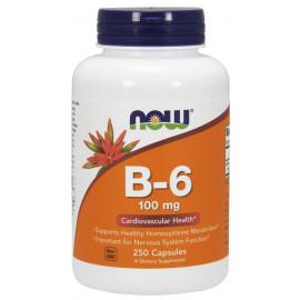 Vitamin B-6 100 mg 250 caps / Витамин Б-6 (Пиридоксин)