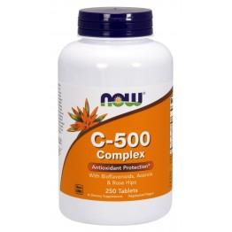 Vitamin C-500 Complex With Rose Hips 250 tab / Витамин С
