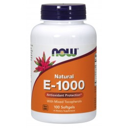 Vitamin E-1000 IU 100 softgels / Витамин Е