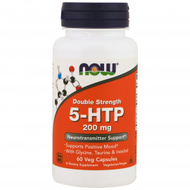 5-HTP 200 mg with Glycine Taurine Inositol 60 vcaps