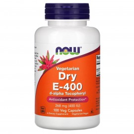 Vitamin E-400 Dry 100 veg capsules / Сухой Витамин Е