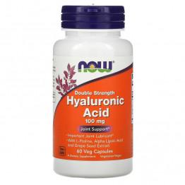 Hyaluronic Acid 100 mg 60 vcaps / Гиалуроновая кислота
