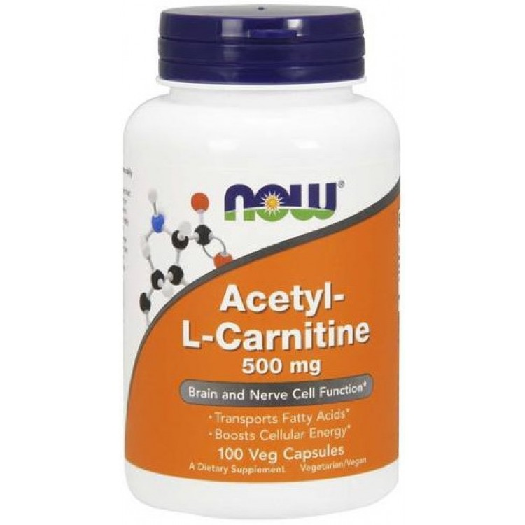 Acetyl-L-Carnitine 500 mg 50 vcaps