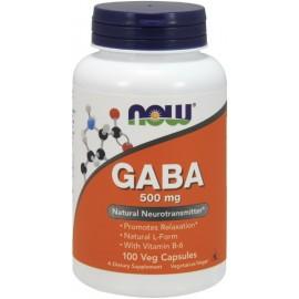 GABA 500 mg 100 caps