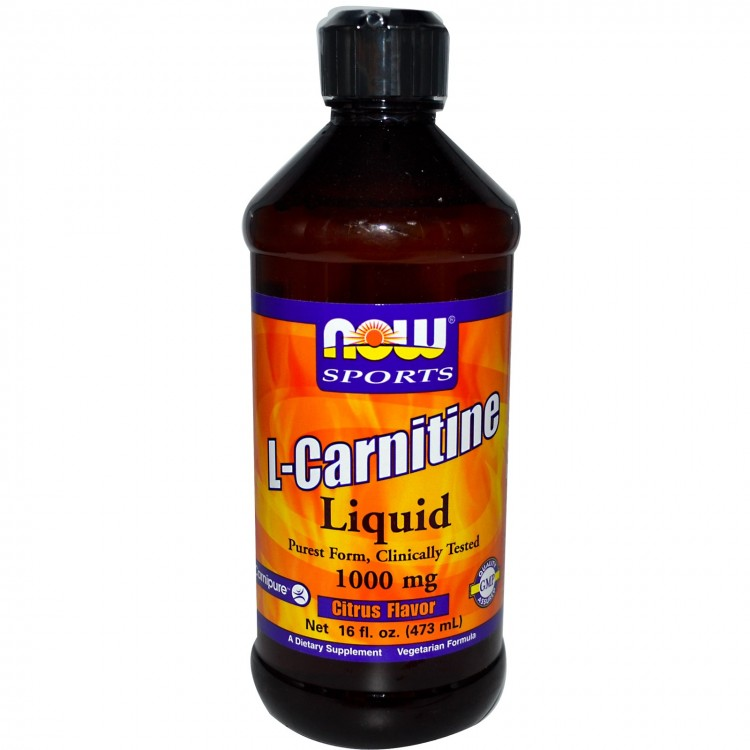 L-Carnitine Liquid Citrus Flavor 1000 mg 473 ml / Л-Карнитин жидкий