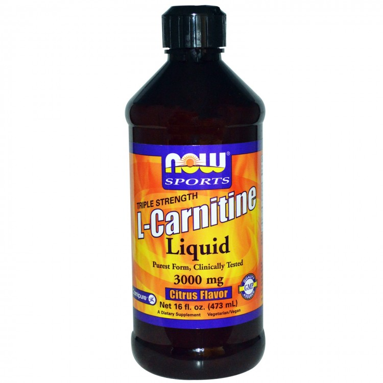 L-Carnitine Liquid Citrus Flavor 3000 mg 473 ml / Л-Карнитин жидкий