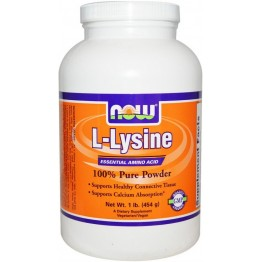L-Lysine Powder 454 g / Л-Лизин