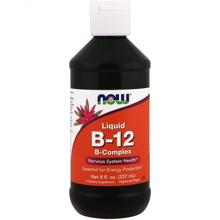 Liquid B-12 B-Complex / Жидкий комплекс витамина B 237 мл