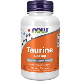 Taurine 500 mg 100 veg caps / Таурин