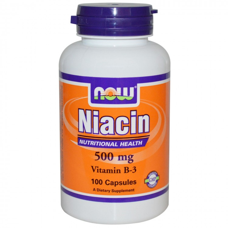 Niacin 500 mg 100 caps / Ниацин