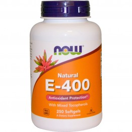 Vitamin E-400 250 softgels / Витамин Е