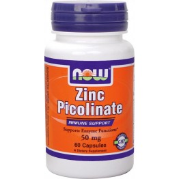 Zinc Picolinate 50 mg 60 caps / Цинк
