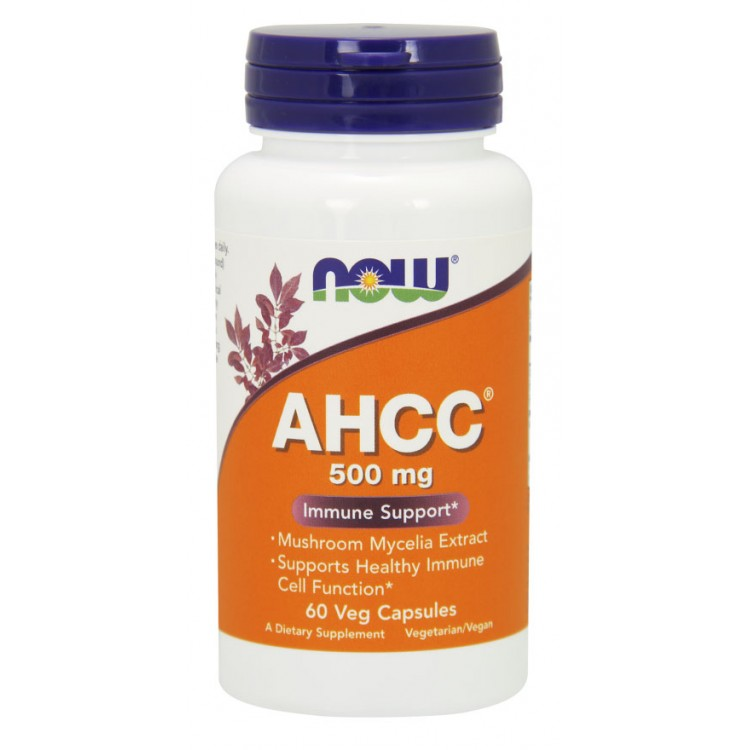 AHCC Immune Support 500 mg 60 vcaps