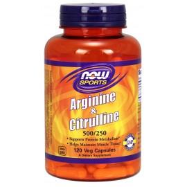 Arginine & Citrulline 120 caps / Аргинин и Цитруллин