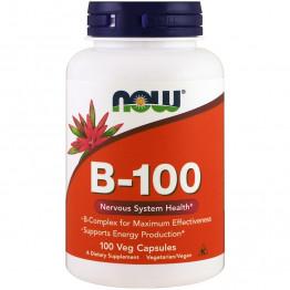B-100 Complex 100 veg caps / Витамины группы Б комплекс