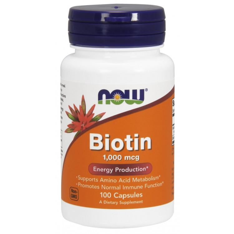 Biotin 1000 mcg 100 caps / Биотин
