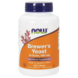 Brewer's Yeast 650 mg 200 tab / Пивные дрожжи