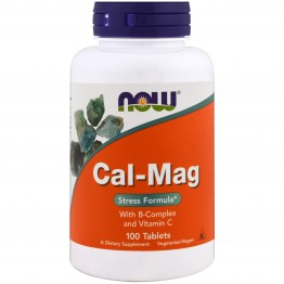 Cal-Mag with B-Complex and Vitamin C 100 tabs / Кальций и Магний