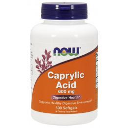 Caprylic Acid 600 mg 100 softgels / Каприловая кислота