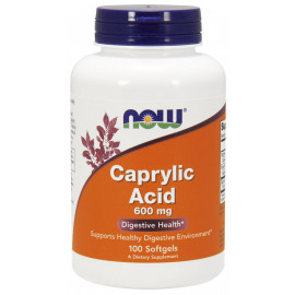 Caprylic Acid 600 mg 100 softgels / Каприловая кислота