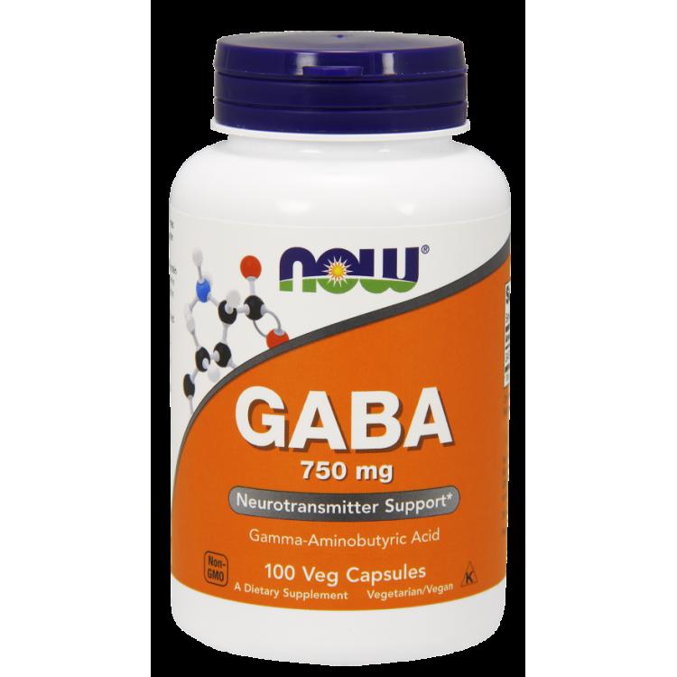 GABA 750 mg 100 vcaps / ГАМК - Гамма-аминобутириновая кислота