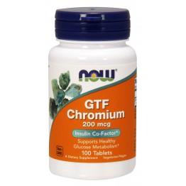 GTF Chromium 200 mcg 100 tab / Хром