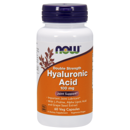 Hyaluronic Acid 100 mg 60 vcaps / Гиалуроновая кислота