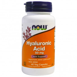 Hyaluronic Acid 50 mg 60 vcaps / Гиалуроновая кислота