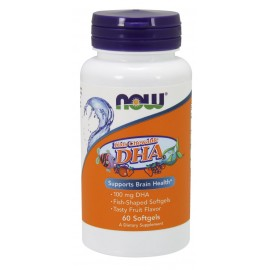 Kid's Chewable DHA 100 mg 60 softgels / Омега для детей