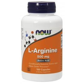 L-Arginine 500 mg 100 caps