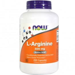 L-Arginine 500 mg 250 caps / Л-Аргинин