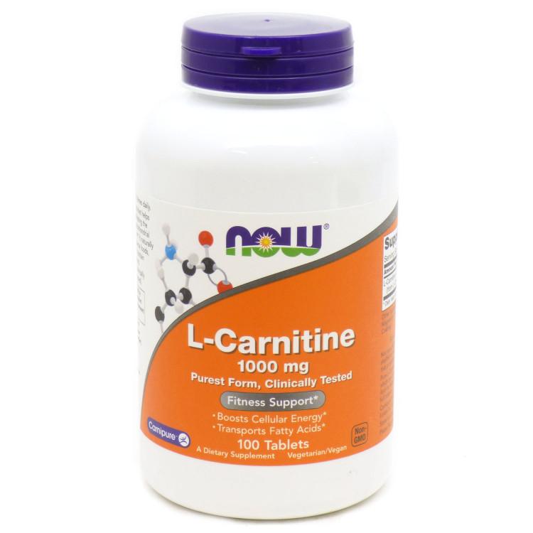 L-Carnitine 1000 mg 100 tab / Л-Карнитин