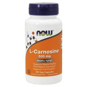 L-Carnosine 500 mg 50 vcaps / Л-карнозин