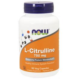 L-Citrulline 750 mg 90 caps / Л-Цитруллин