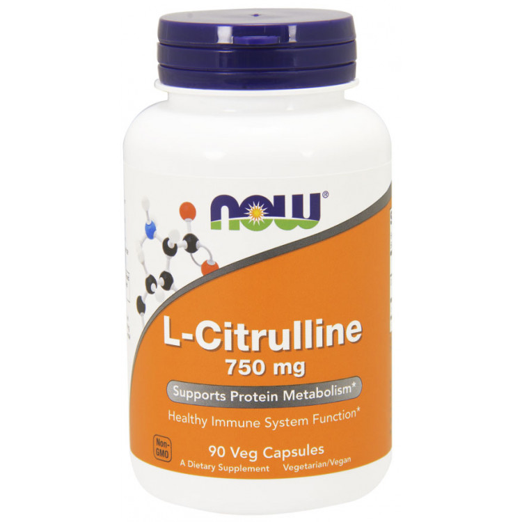 L-Citrulline 750 mg 90 caps / Л-Цитруллин